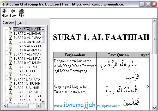 Al Quran Dari Kampungsunnah