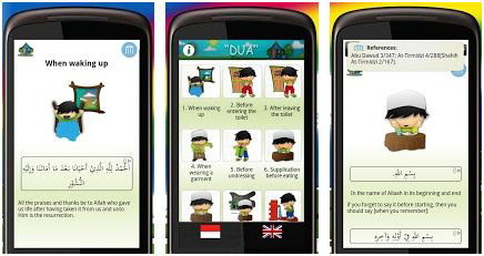 Do'a for Muslim Kids