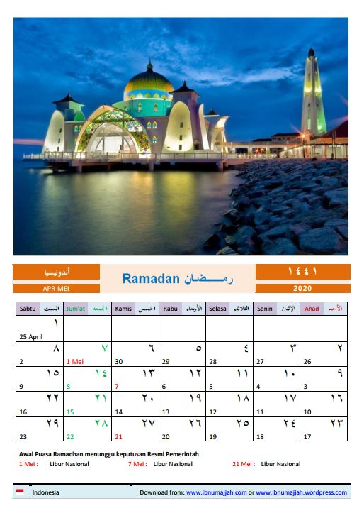 Kalender1441H
